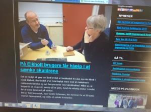 svensk hjemmesde om døvblindhed