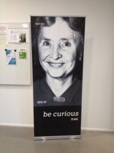 Roll up med foto af Helen Keller