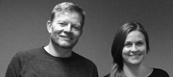 Billede af Trine (til højre) og Niels-Henrik (til venstre)
